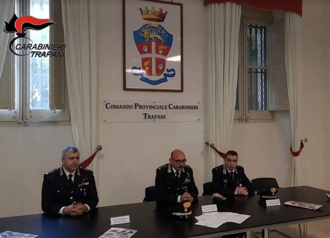 Calendario Storico Carabinieri 2019.Trapani Presentato Il Calendario Storico 2019 Dell Arma Dei