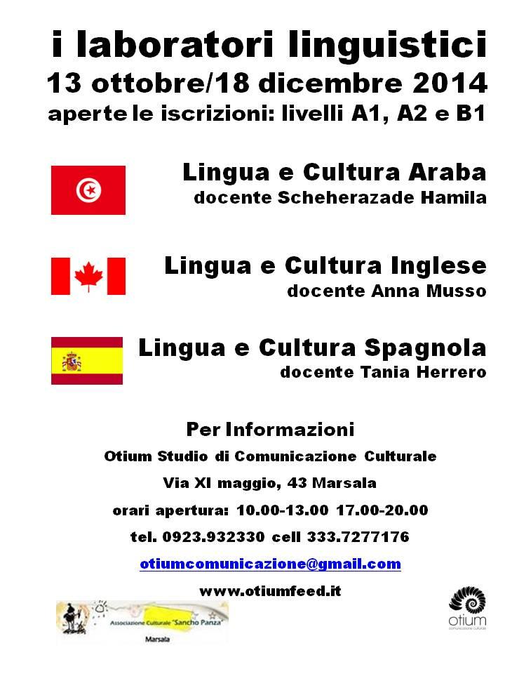 Al via i corsi di lingua ad otium a marsala for Esl soggiorni linguistici opinioni