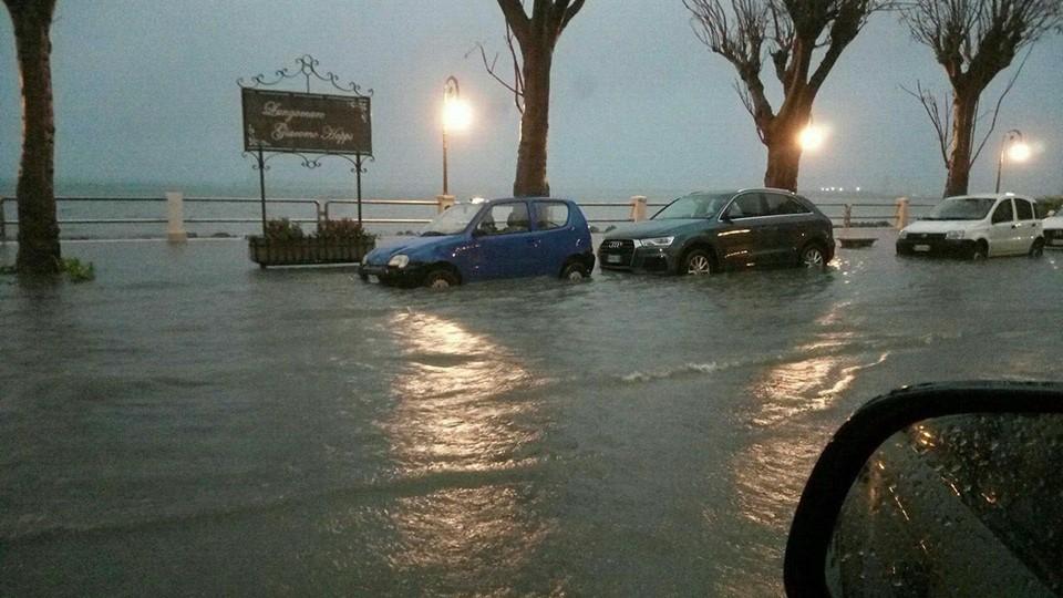 Maltempo, 150 millimetri di acqua caduta in poche ore nel Trapanese