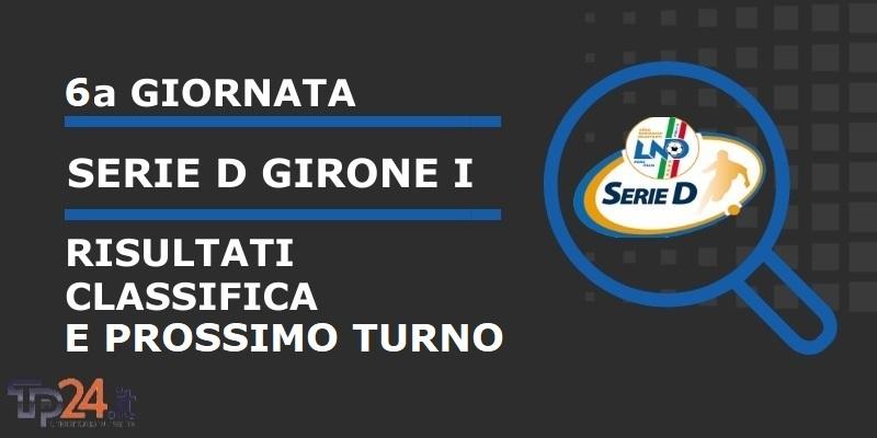 Serie D Girone I Il Punto Sulla 6 Giornata Risultati Classifica E Prossimo Turno