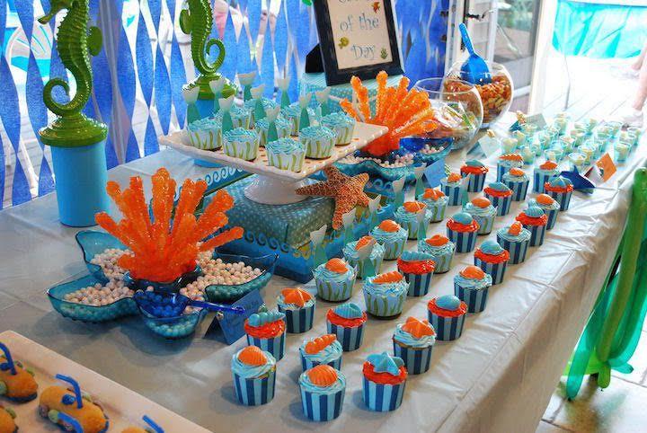 Decorazioni Buffet Compleanno Bambini : I compleanni per bambini in estate organizzali a tema mare