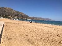Castellammare:i controlli anti assembramento in spiaggia, fatti dai lavoratori di