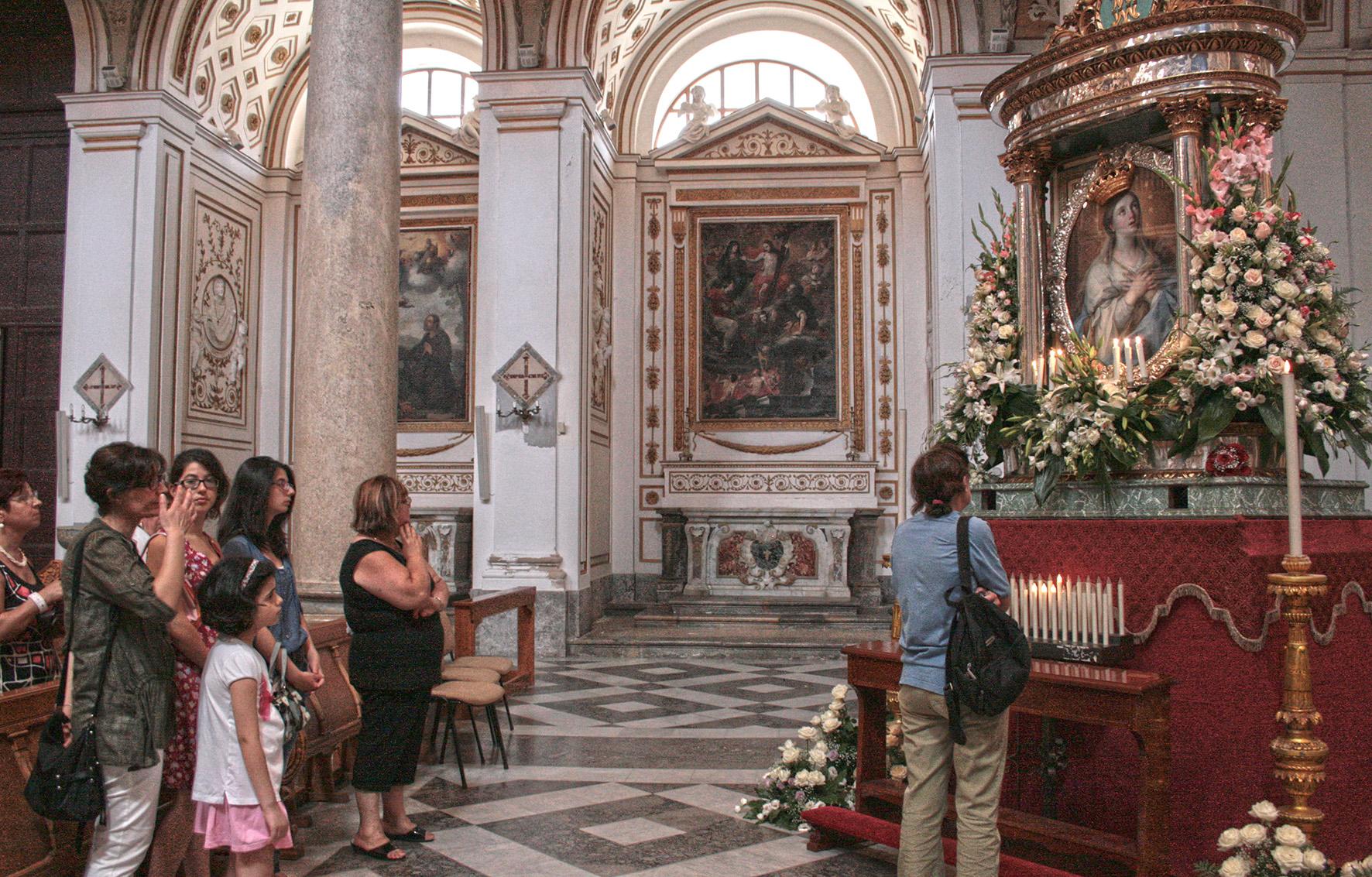Mazara, niente processione per la Madonna del Paradiso. Il quadro in Cattedrale