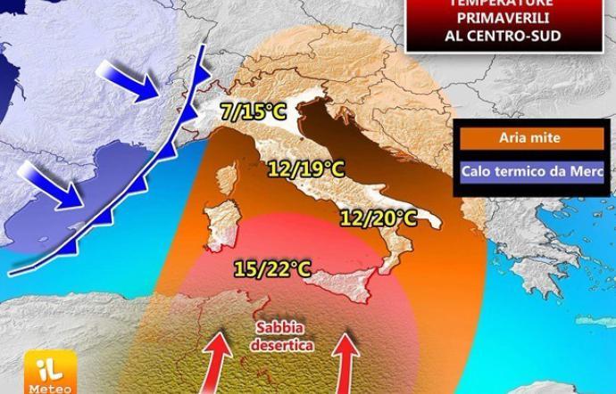 Caldo record in Italia, a Roma mai cosi' da un secolo