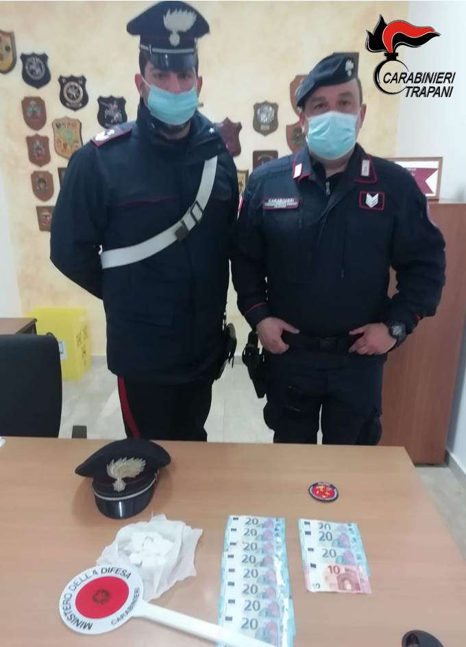 Campobello Arrestato Spacciatore Di Cocaina