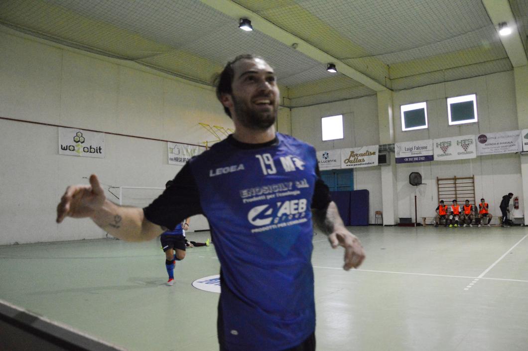 Il Marsala Futsal ritorna in zona play off - battuta 8 a 7