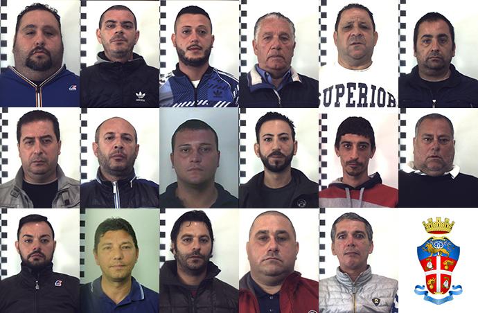Mafia blitz a palermo 17 arresti trovato il libro for Mastro arredamenti palermo
