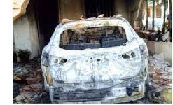 Scarcerato l'uomo accusato di avere incendiato l'auto del sindaco di Gibellina