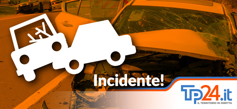 Castelvetrano, scontro auto camion sulla provinciale. Grave una donna, ferito il marito