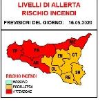 Scirocco e rischio incendi. Allerta rossa in mezza Sicilia