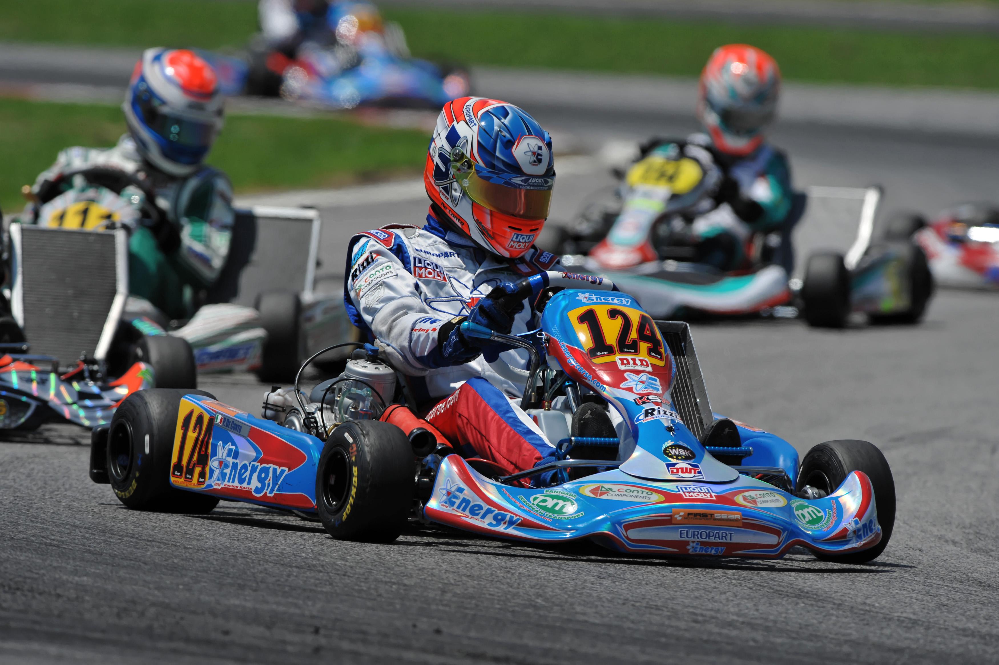 Circuito Karting : Karting i risultati del campionato regionale sul circuito