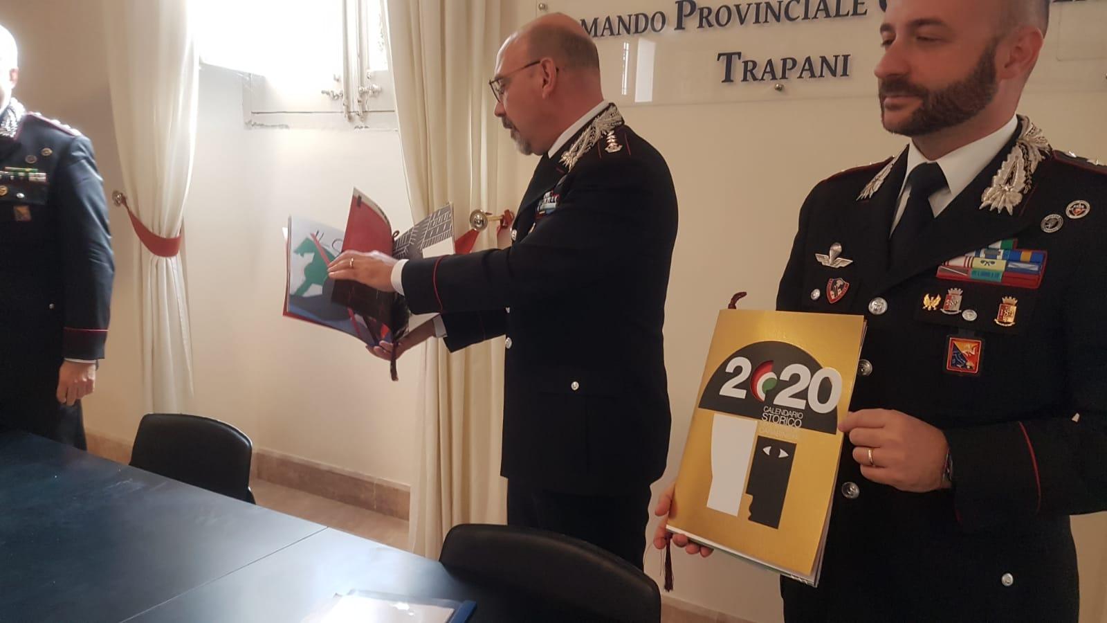 Presentato a Trapani il calendario 2020 dei Carabinieri - Tp24