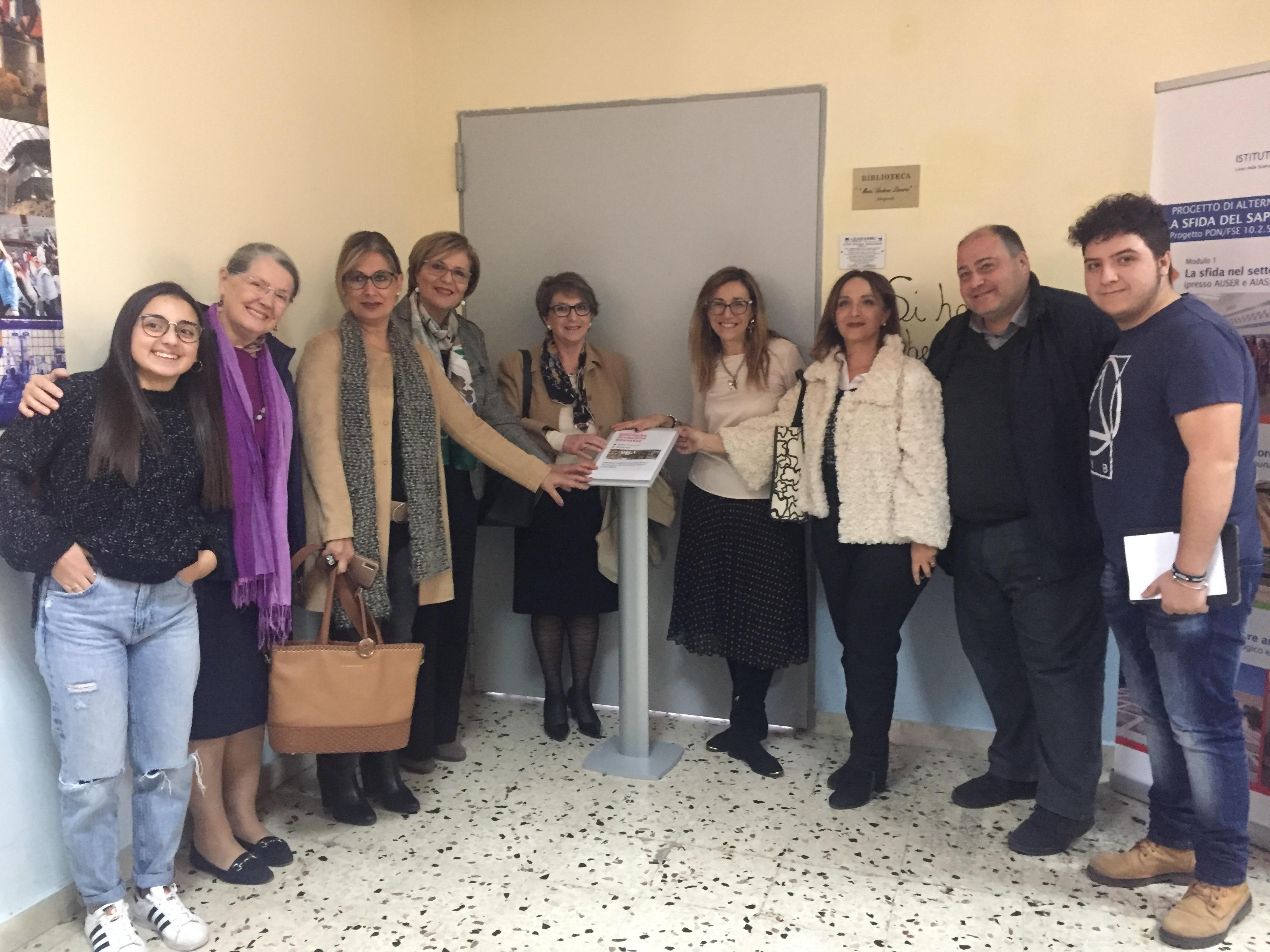 Il Liceo Pascasino di Marsala celebra la giornata di lettura nelle scuole - Tp24