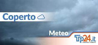Nuvole e pioggia in provincia di Trapani. Le previsioni meteo