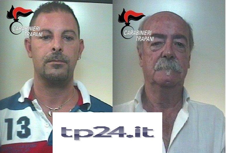 Estorsione, arrestati padre e figlio