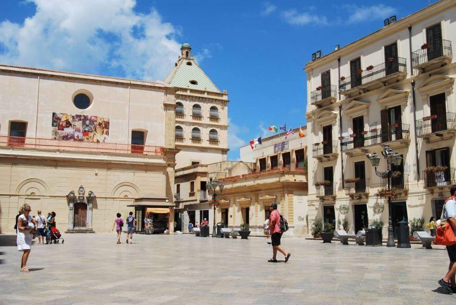 piazza delle repubblica a marsala