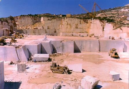 Cave di marmo in sicilia