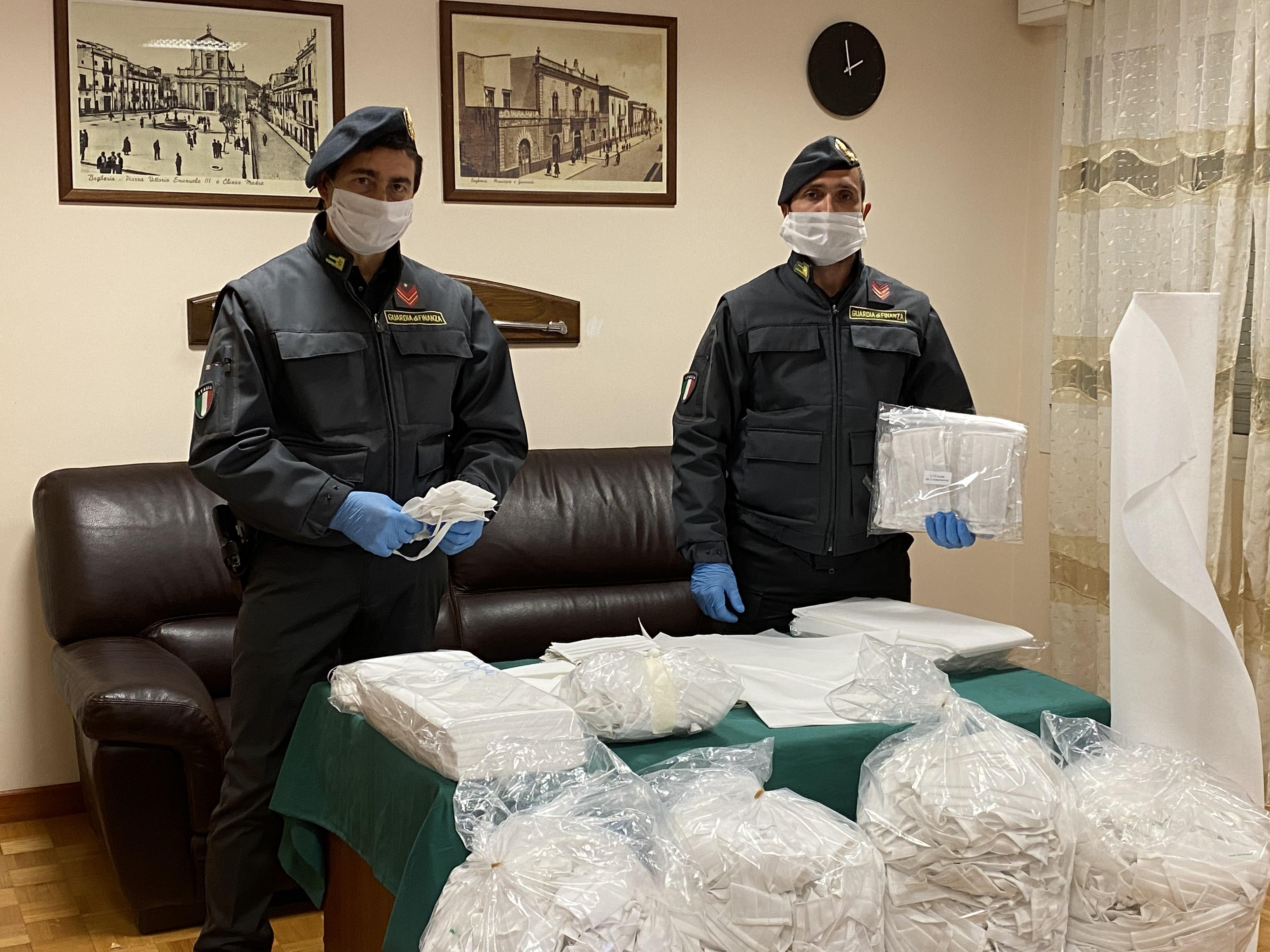 Sicilia, 2200 mascherine non sicure sequestrate in due famacie