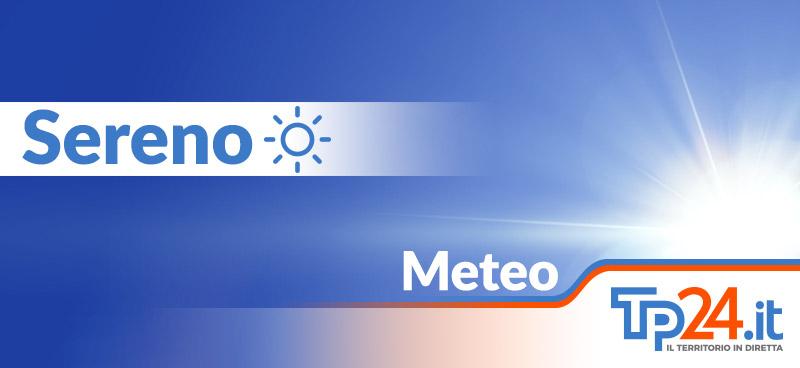 Bel tempo in provincia di Trapani. Le previsioni meteo per il primo weekend dopo il lockdown