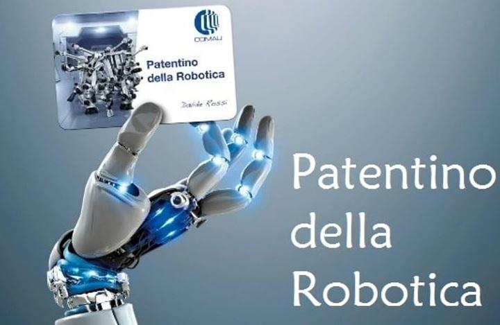 Risultati immagini per Patentino della Robotica