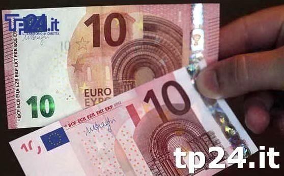 76mila euro di banconote false negli scatoloni in cantina: la scoperta