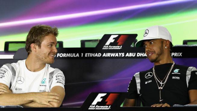 F1, Gp Abu Dhabi: Hamilton favorito ma Rosberg è a quota titolo