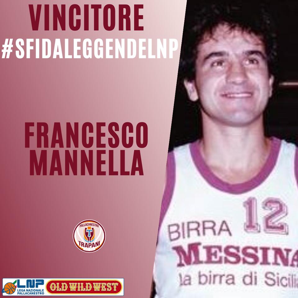 Trapani basket, Francesco Mannella vincitore del contest#SfidaLeggendeLNP