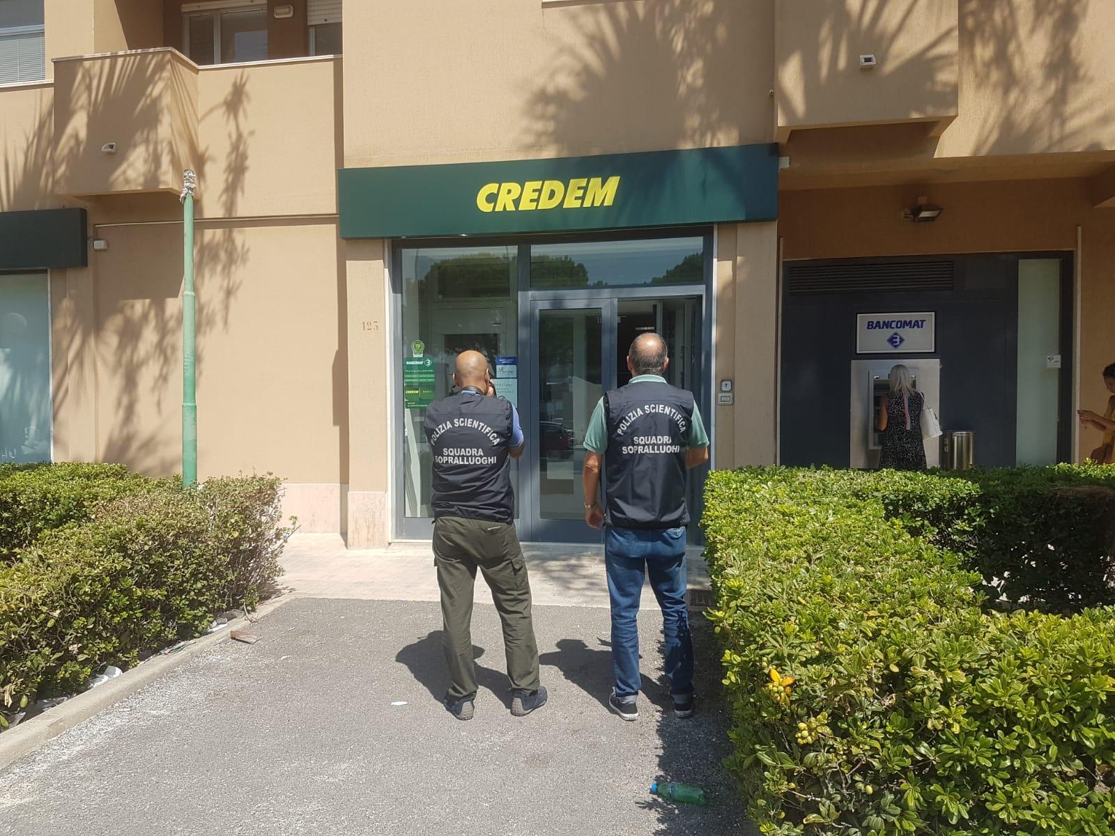 C'è stata una rapina in banca a Trapani. Bottino 70.000 euro