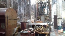 Marsala, cominciati i lavori di restauro nella Chiesa di San Giuseppe