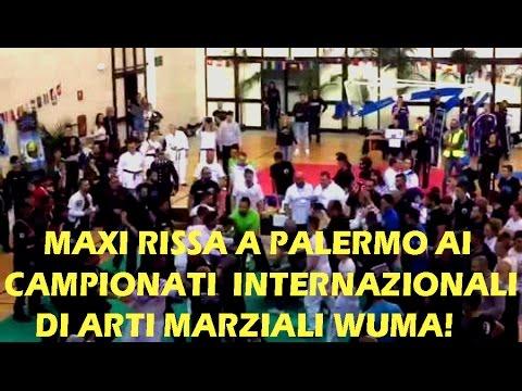 Arti marziali al PalaMangano, i mondiali finiscono in rissa: