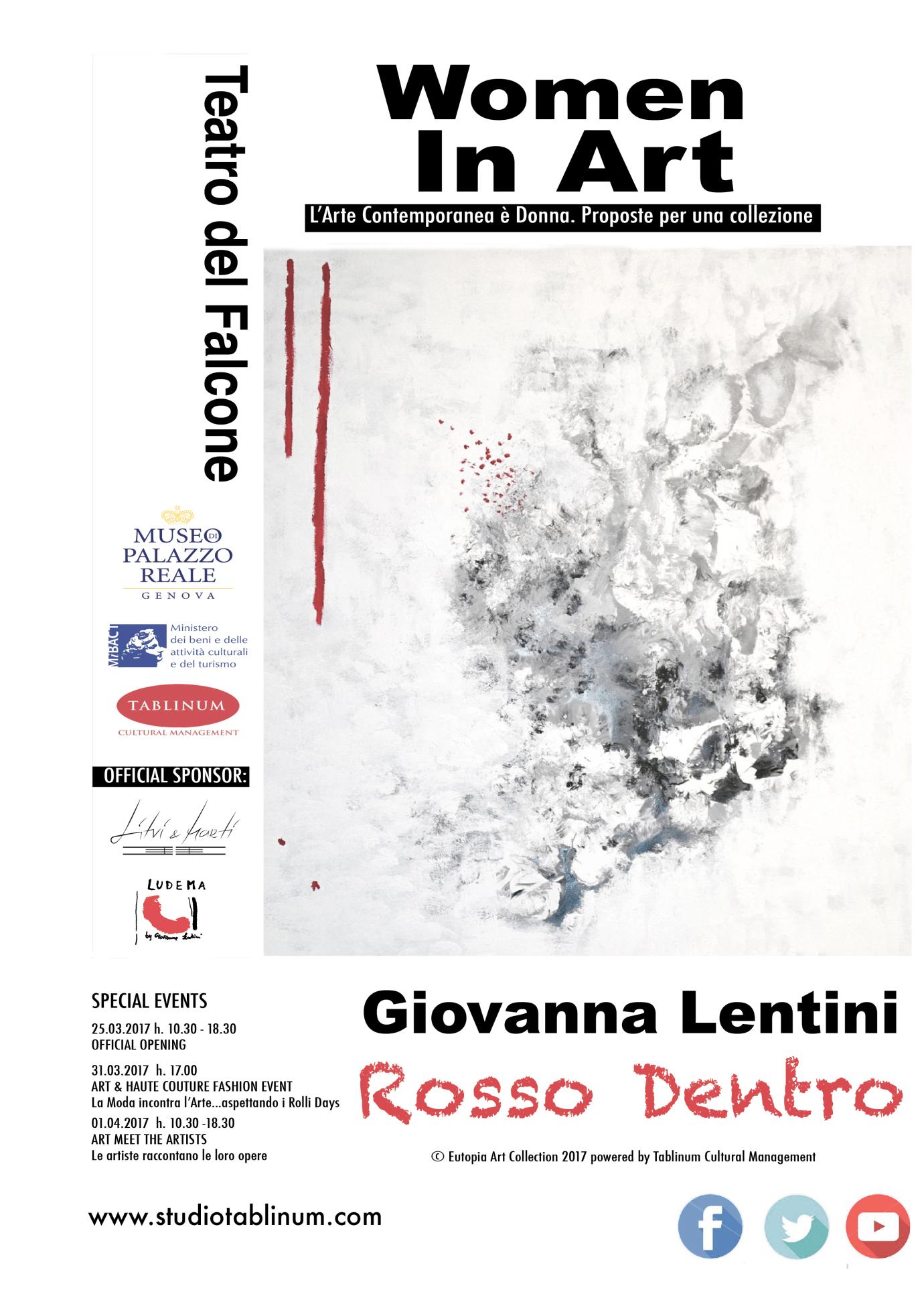 Alla mostra  Women in Art  di Genova le opere dell artista marsalese Giovanna Lentini.