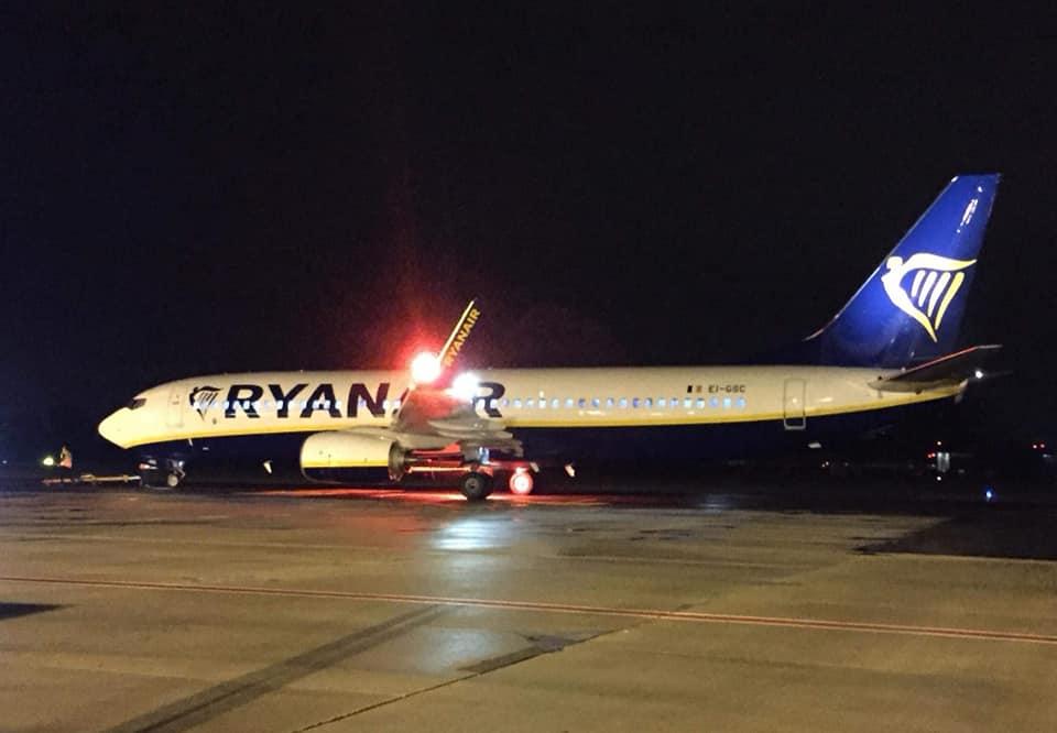 Aeroporto di Trapani, ripartono i voli Ryanair per Bologna ...