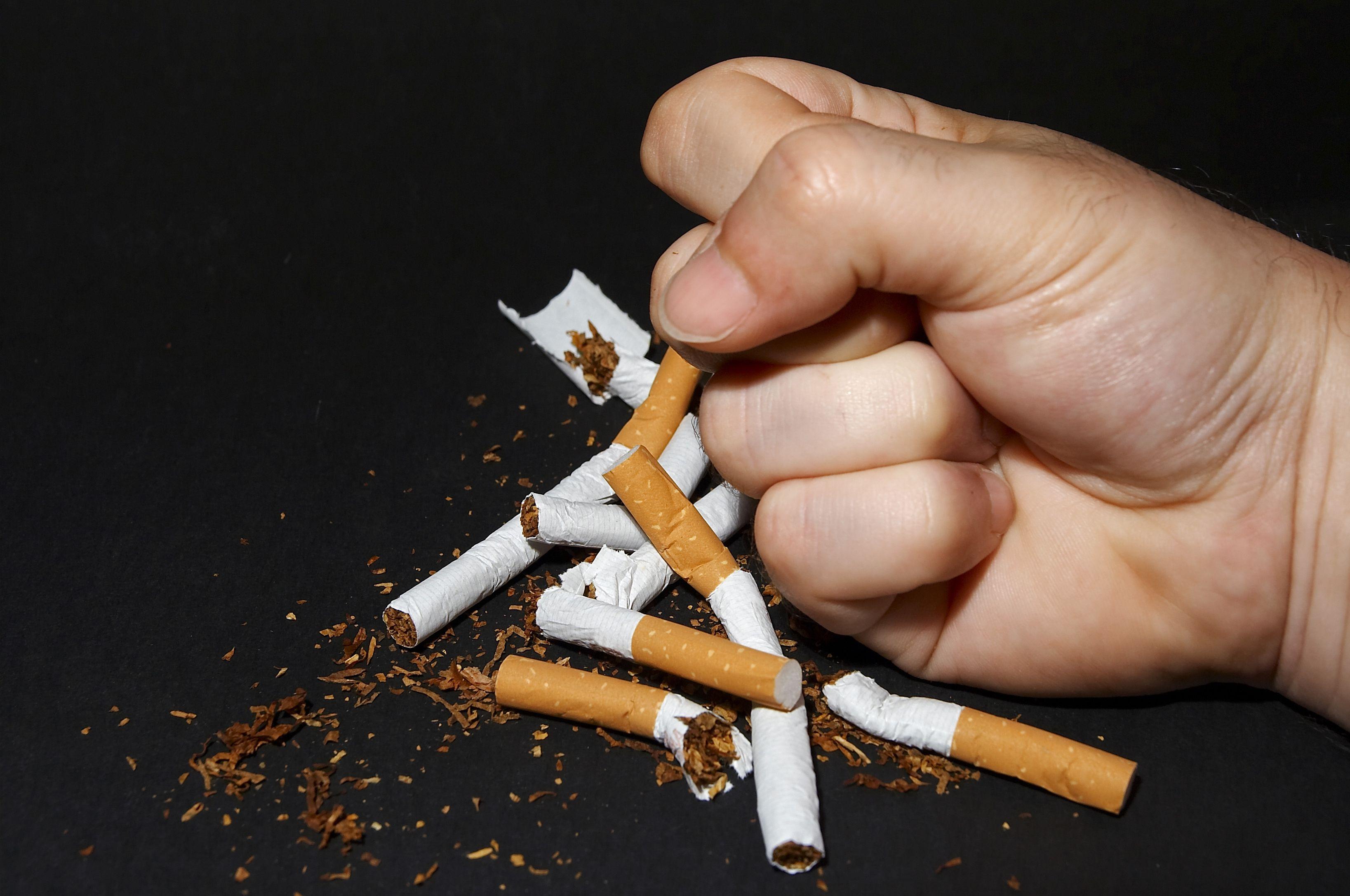 Camomilla per smettere di fumare