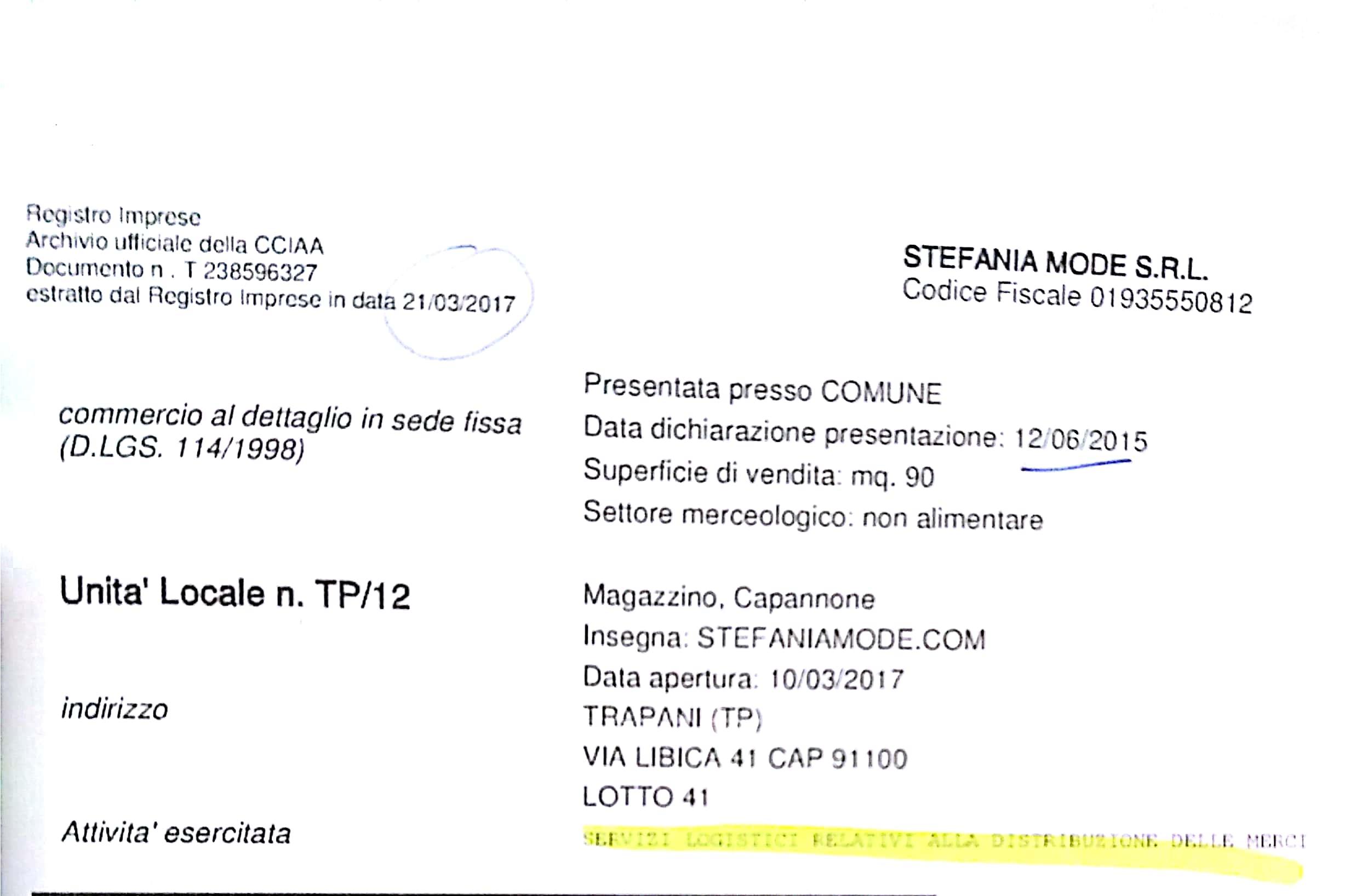 Trapani, il caso dell'area industriale/4: Stefania Mode