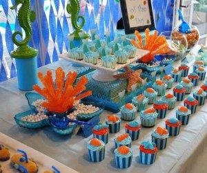 I compleanni per bambini in estate organizzali a tema mare for Decorazioni torte tema mare