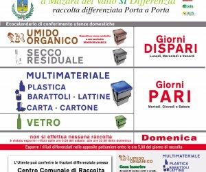 Mazara presentato il nuovo servizio di raccolta differenziata for Volantino bricofer marsala